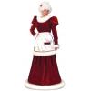 Santa Mrs Velvet Dress Medium Large